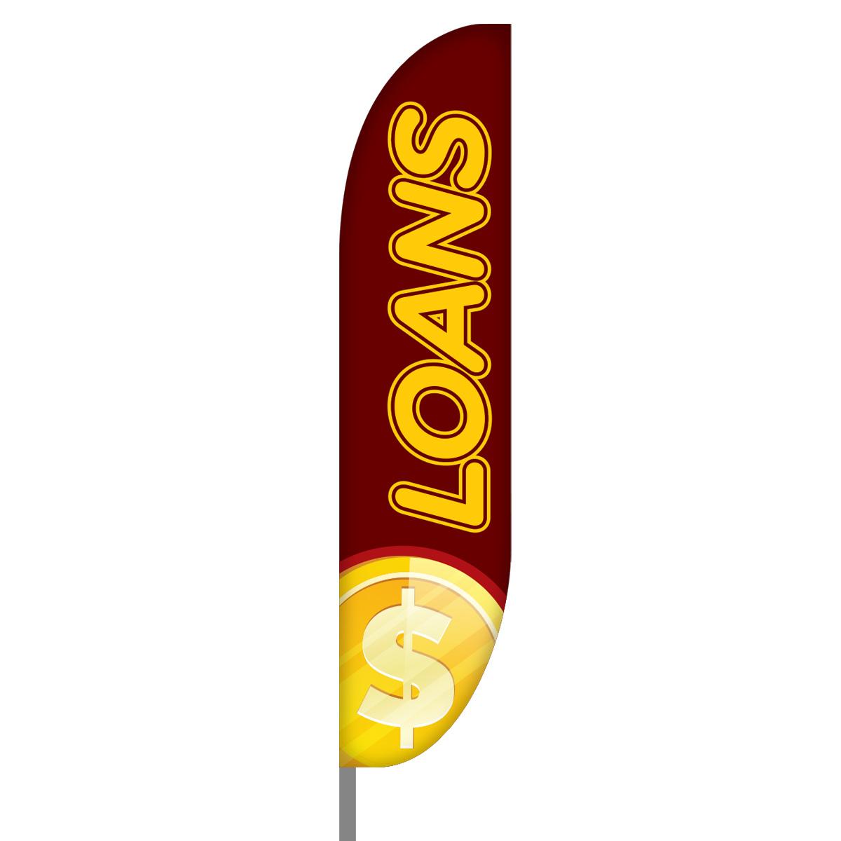 Loans Flag Design 02