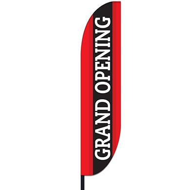 Grand Opening Flag Design 02