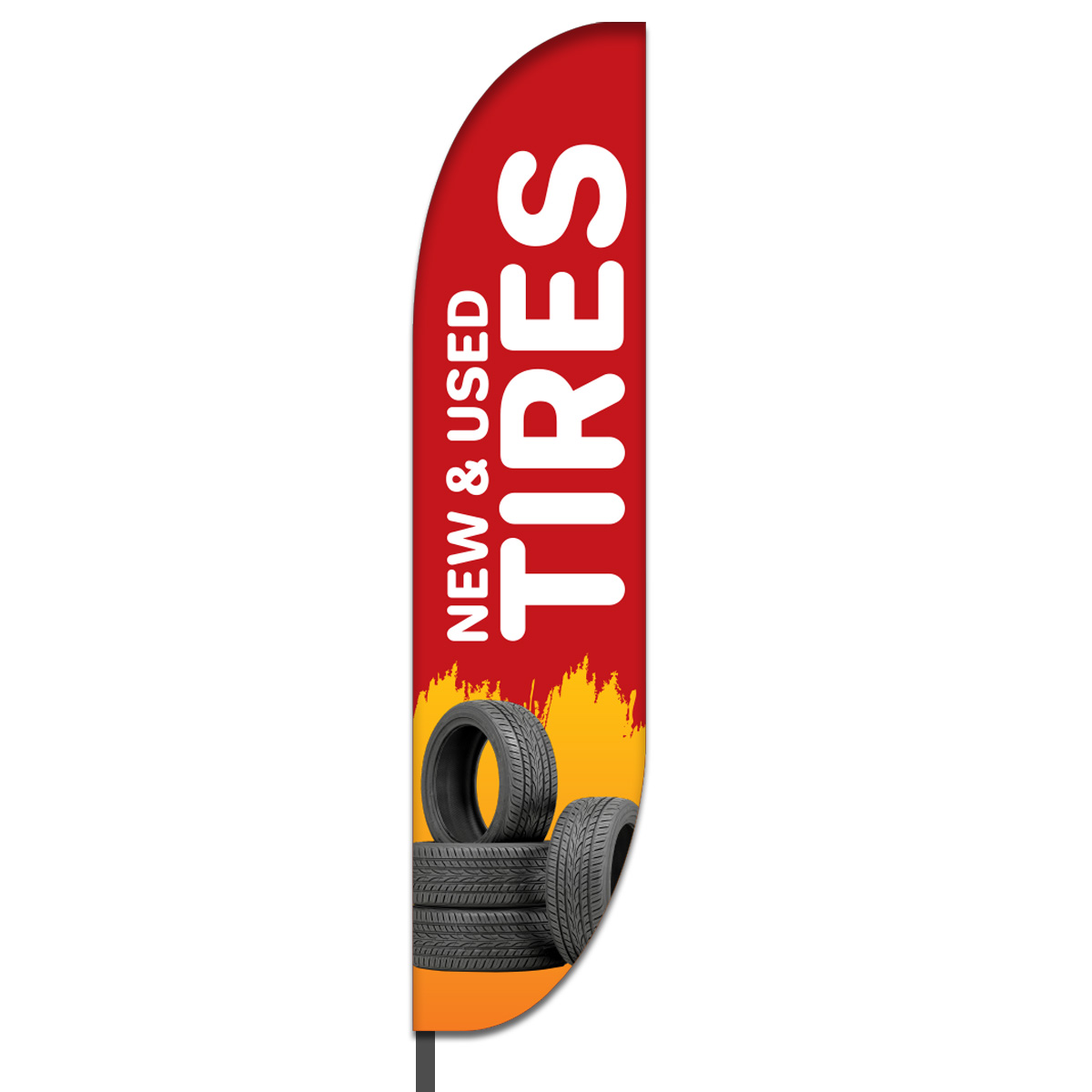 Tire Shop Flag Design 03