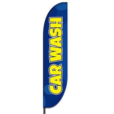 Car Wash Flag Design 01