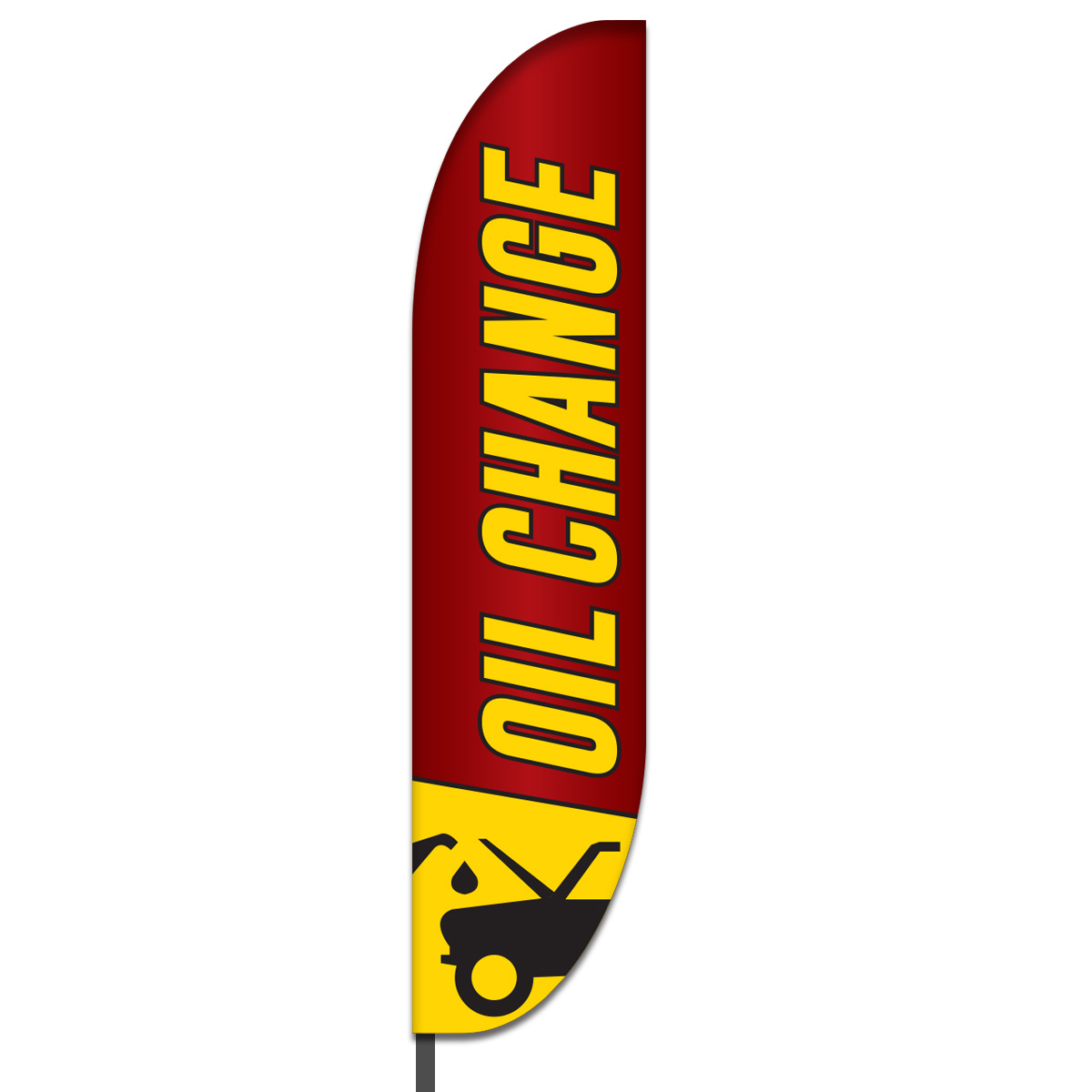 Oil Change Flag Design 02