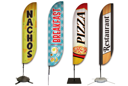 Restaurants Feather Flags Profile