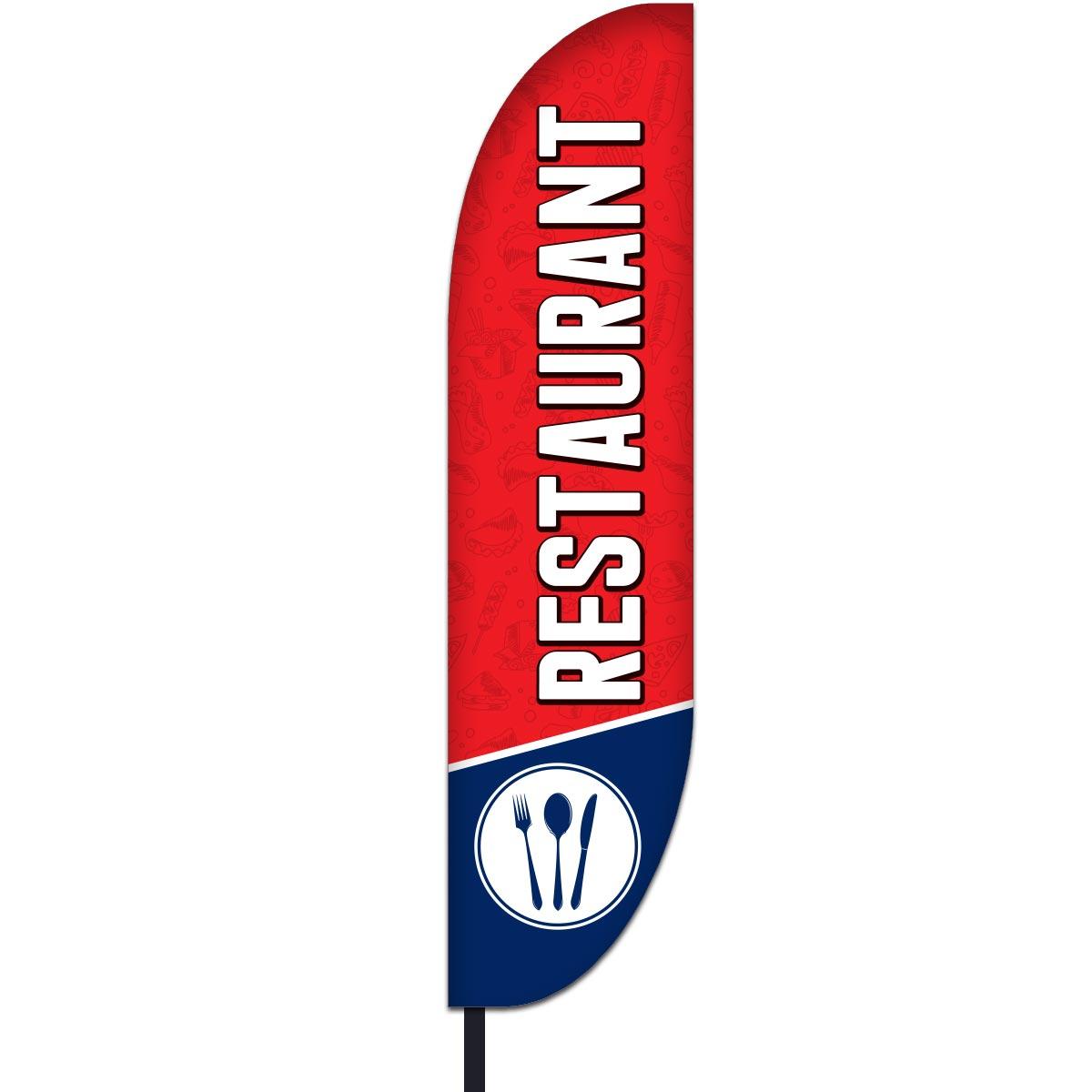 Restaurant Flag Design 01