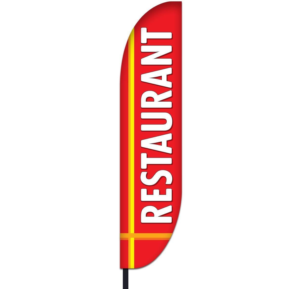 Restaurant Flag Design 05