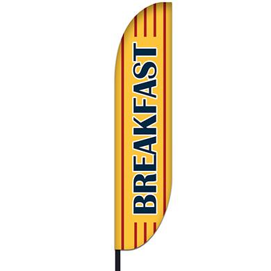 Breakfast Flag Design 01