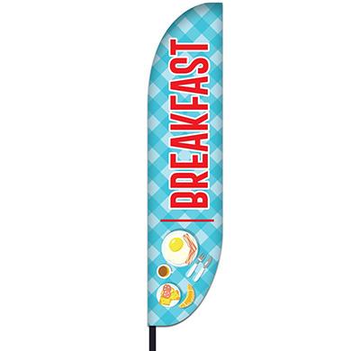 Breakfast Flag Design 04