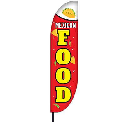 Mexican Food Flag Design 04