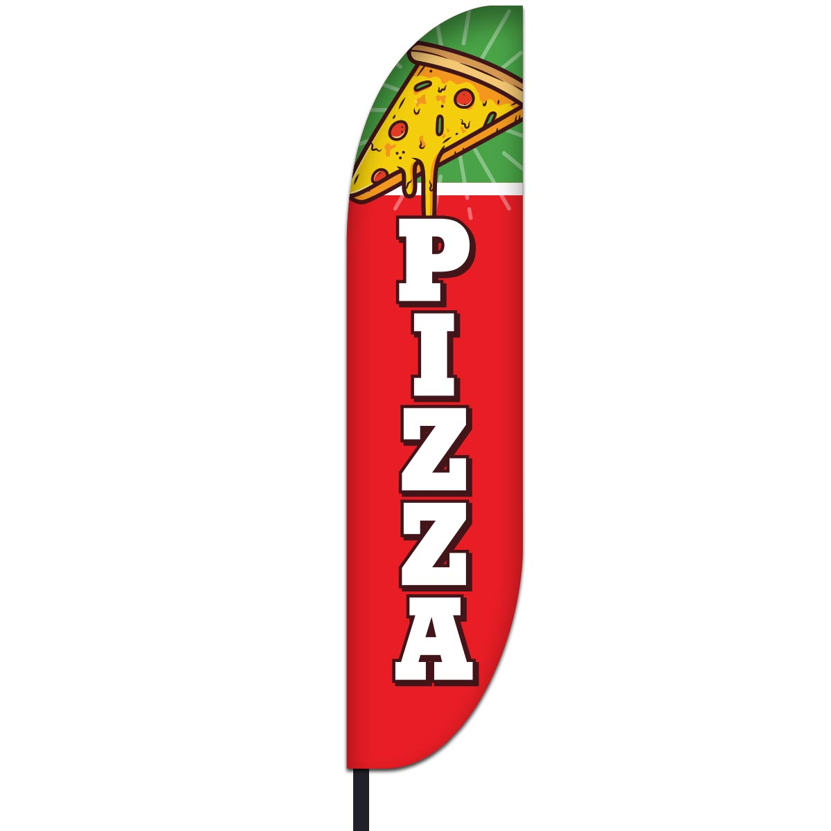 Pizza Flag Design 02