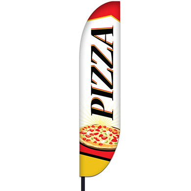 Pizza Flag Design 03