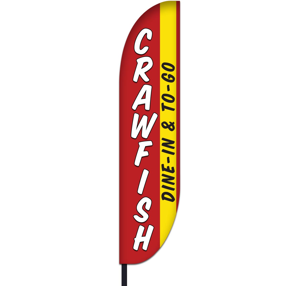 Crawfish Flag Design 02