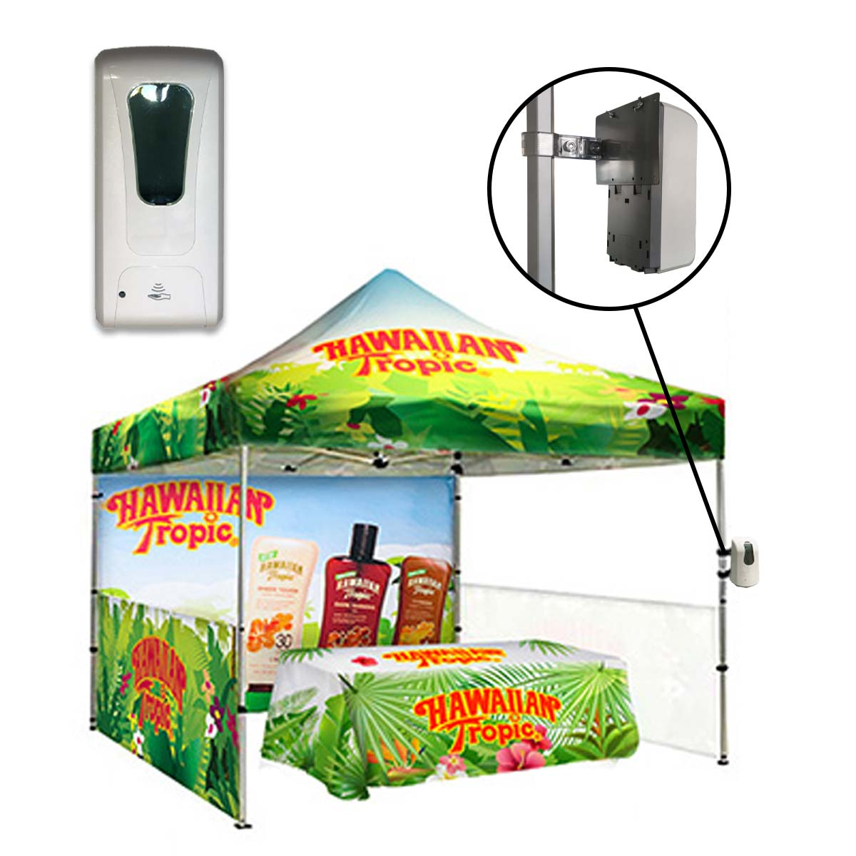 Automatic Sanitizer Dispenser For Tents