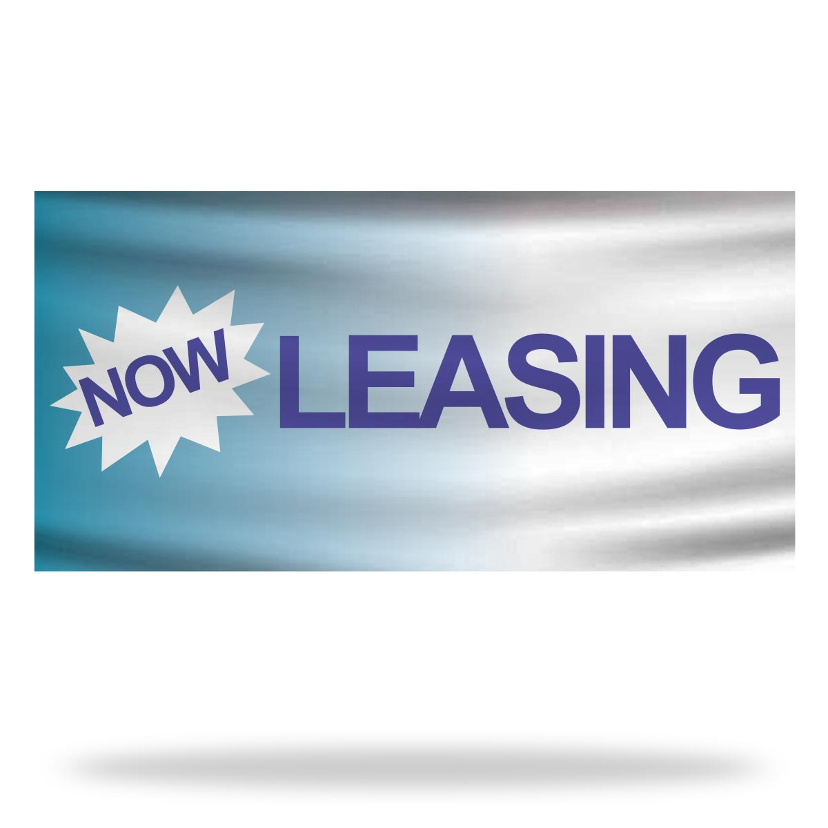 Now Leasing Flags & Banners Design 01