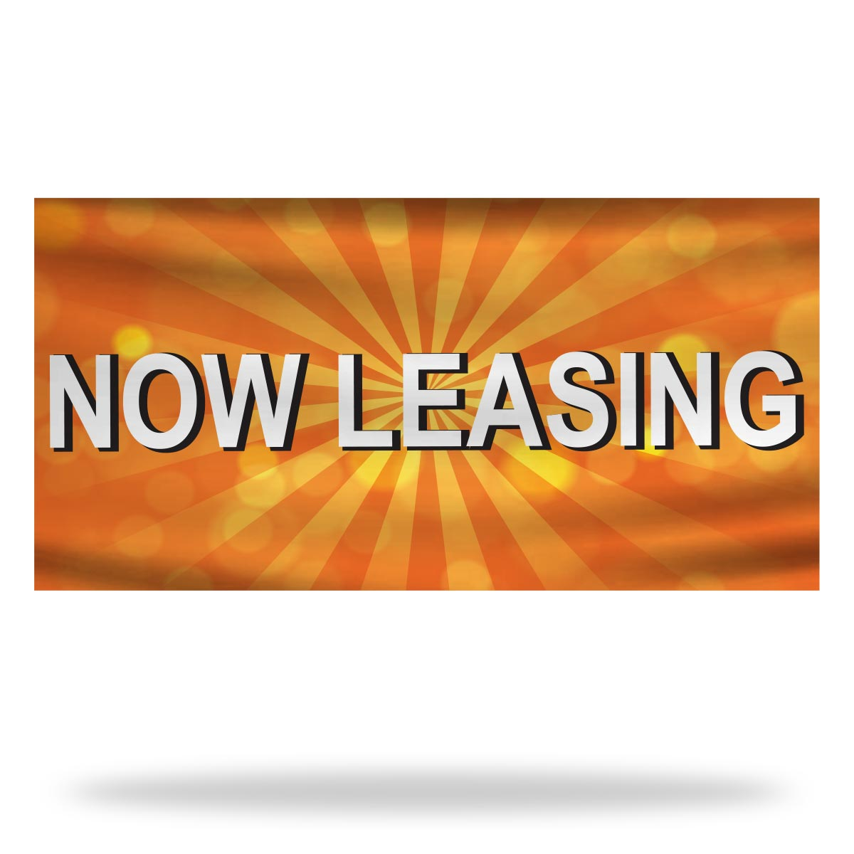 Now Leasing Flags & Banners Design 06