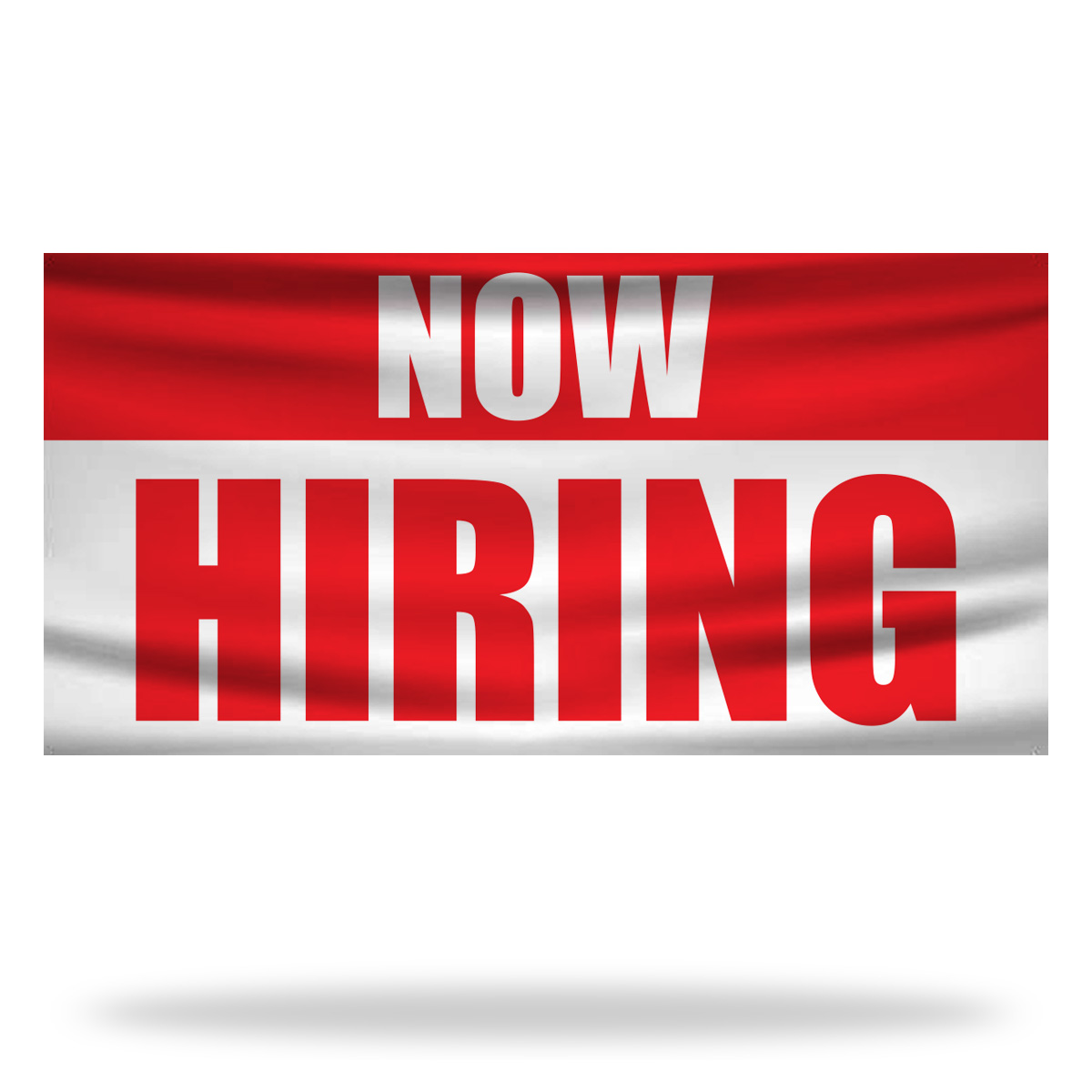 Now Hiring Flags & Banners Design 03