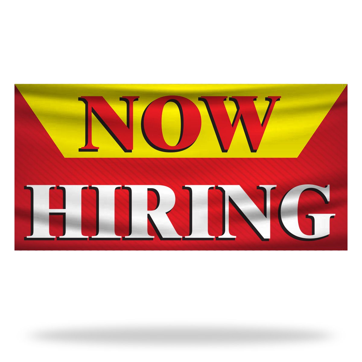 Now Hiring Flags & Banners Design 05
