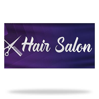 Salon Flags & Banners Design 03