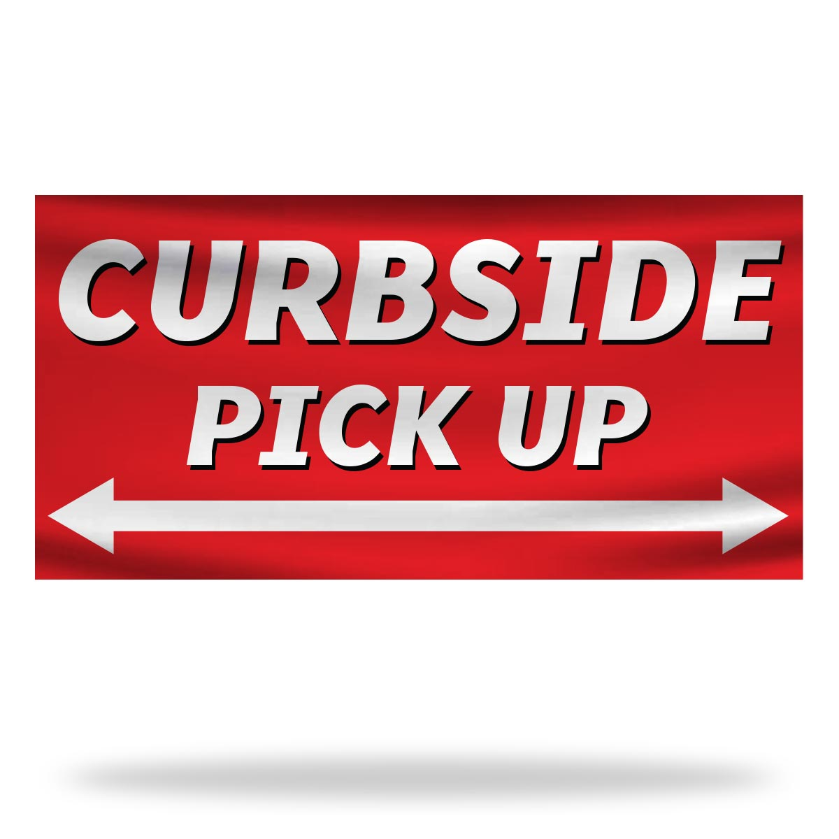 Curbside Pickup Flags & Banners Design 01