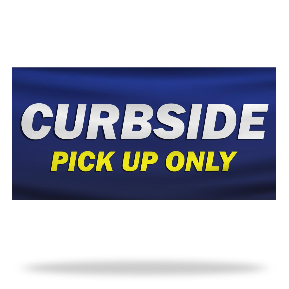 Curbside Pickup Flags & Banners Design 02
