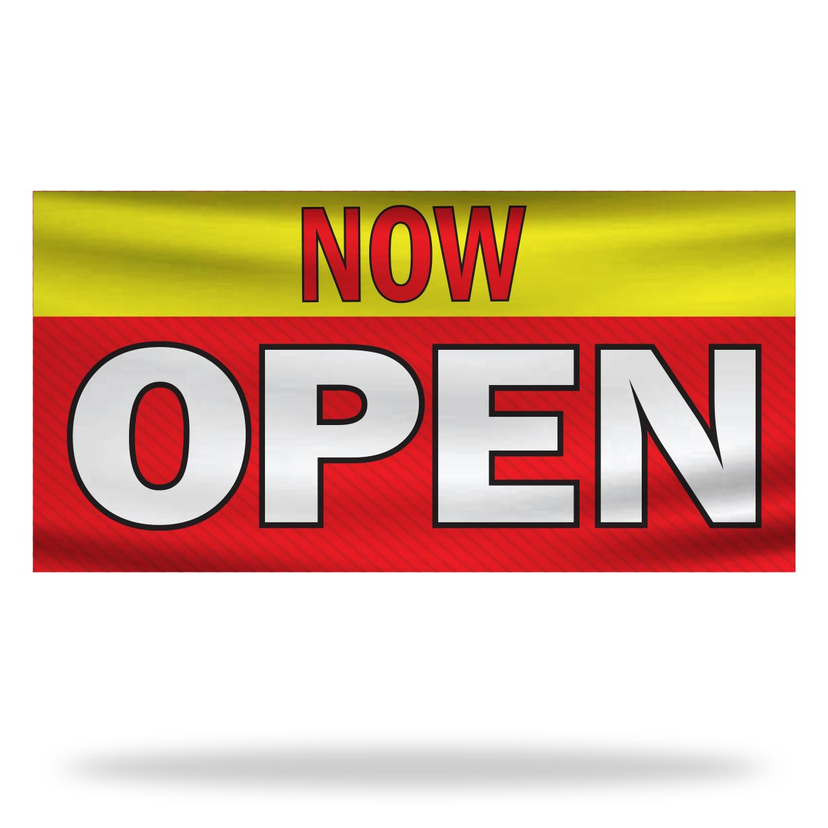 Now Open Flags & Banners Design 01