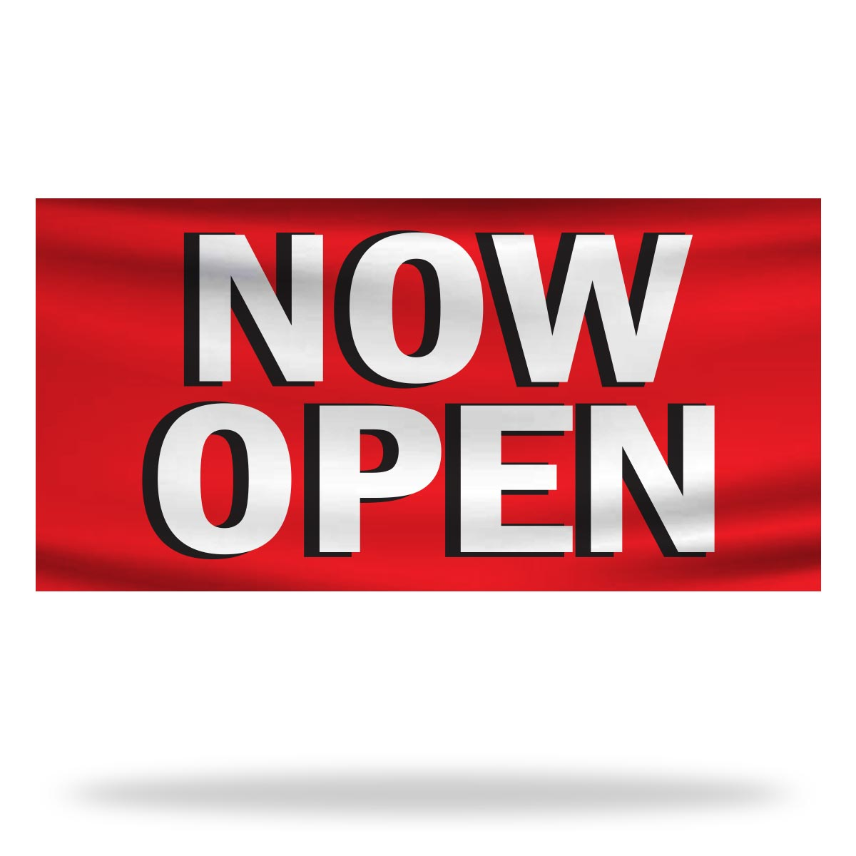 Now Open Flags & Banners Design 03