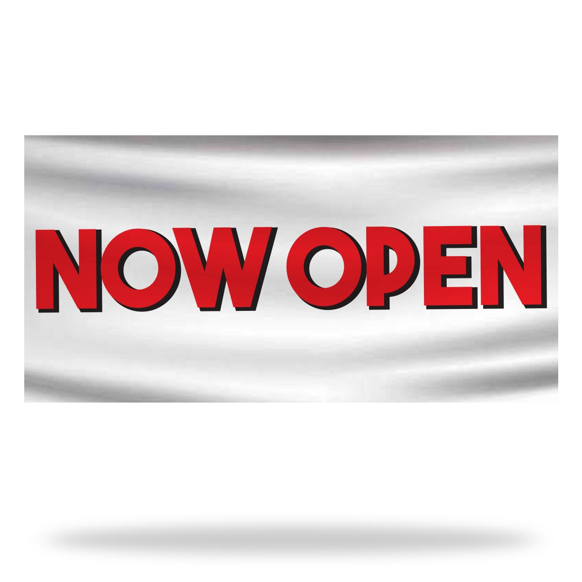 Now Open Flags & Banners Design 07