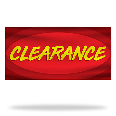 Clearance Flags & Banners Design 03