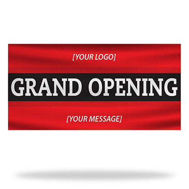 Grand Opening Flags & Banners Design 02