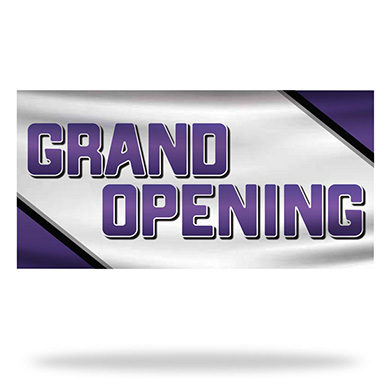 Grand Opening Flags & Banners Design 03