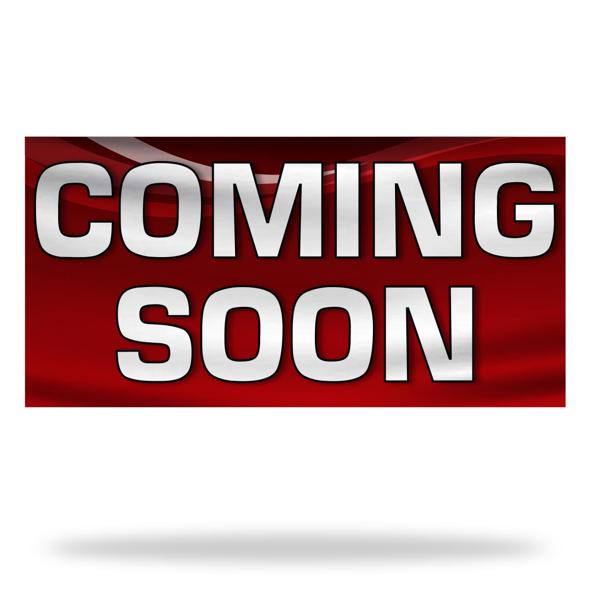 Coming Soon Flags & Banners Design 01