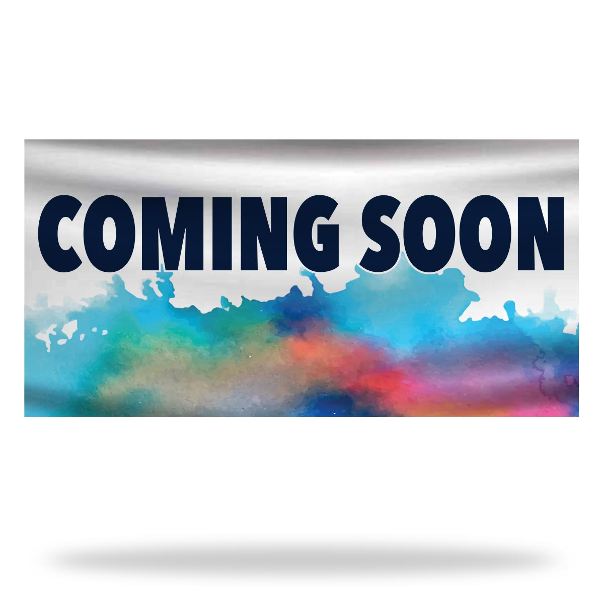 Coming Soon Flags & Banners Design 03