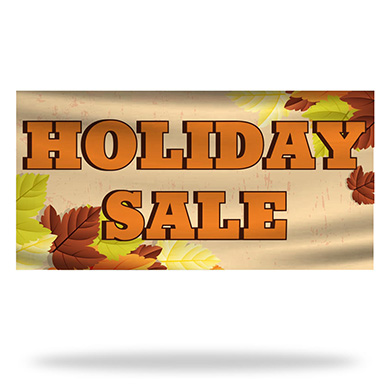 Holiday Sale Flags & Banners Design 01