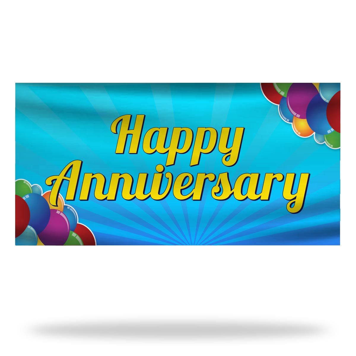 Anniversary Flags & Banners Design 02