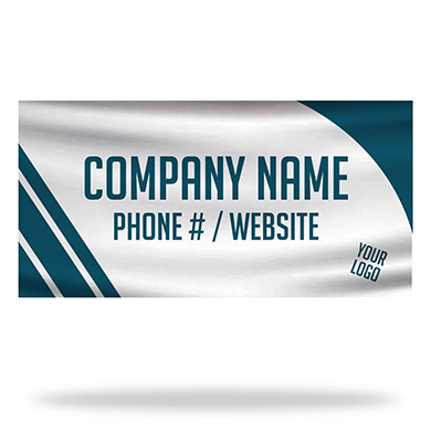 Universal Business Info Flags & Banners Design 03