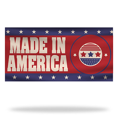 Made In America Flags & Banners Design 04