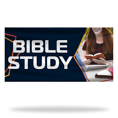 Bible Study Flags & Banners Design 02