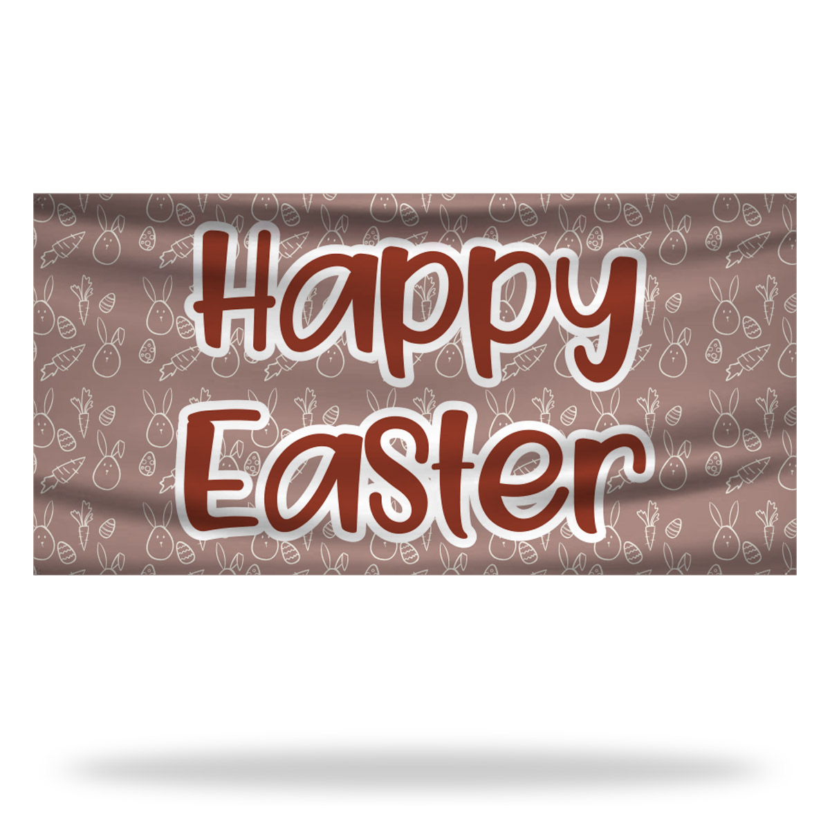 Happy Easter Flags & Banners Design 02