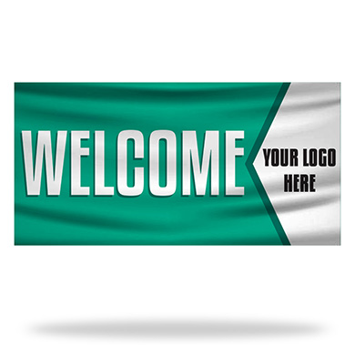 Religious Welcome Flags & Banners Design 01