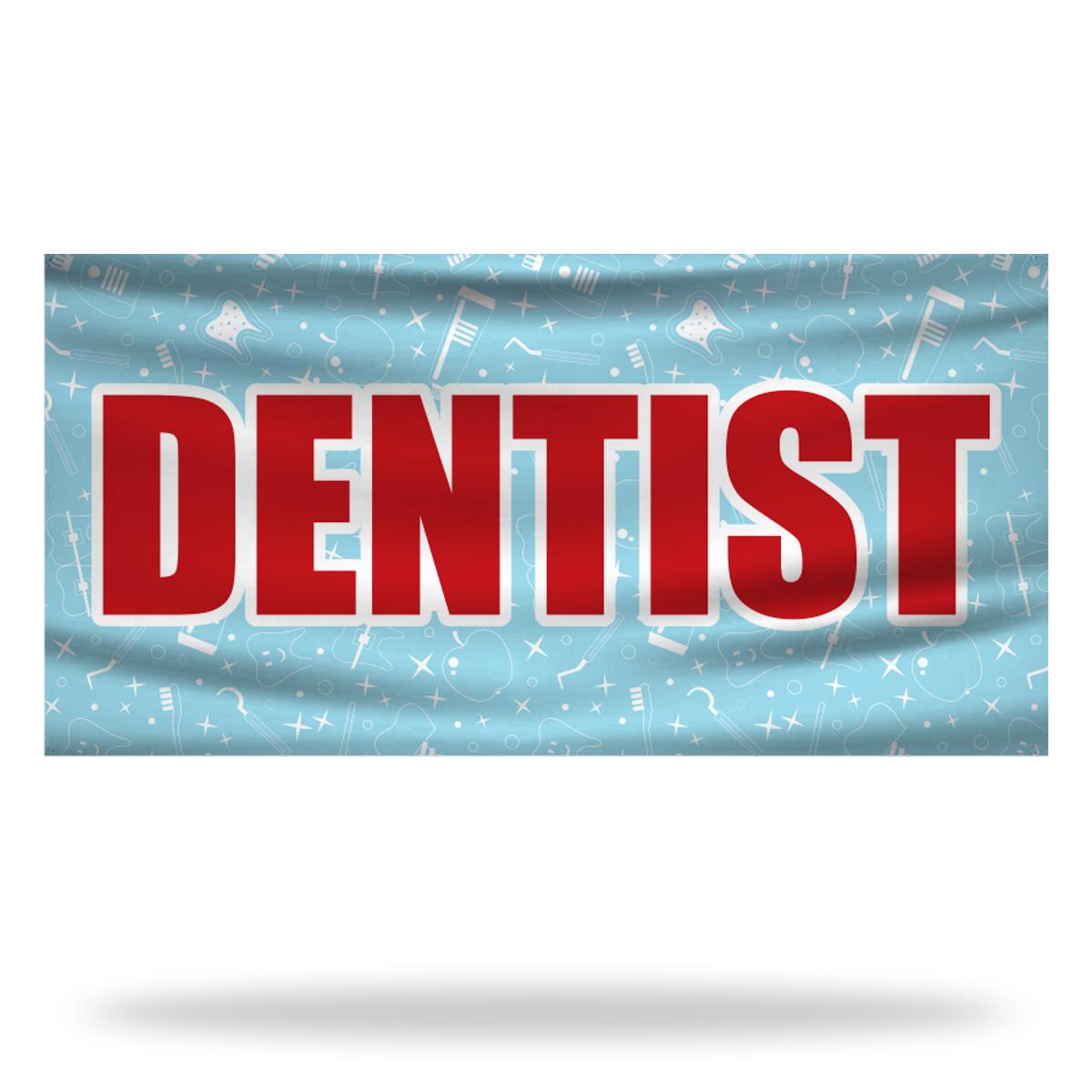 Dentist Flags & Banners Design 02