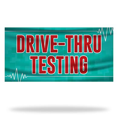 Drive Thru Testing Flags & Banners Design 01
