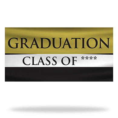 Graduation Flags & Banners Design 01