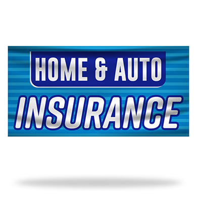 Insurance Flags & Banners Design 04