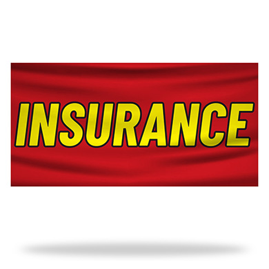 Insurance Flags & Banners Design 05
