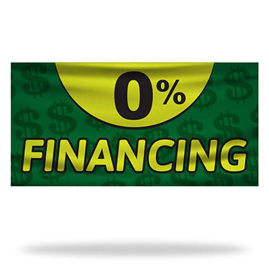 Financing Flags & Banners Design 03