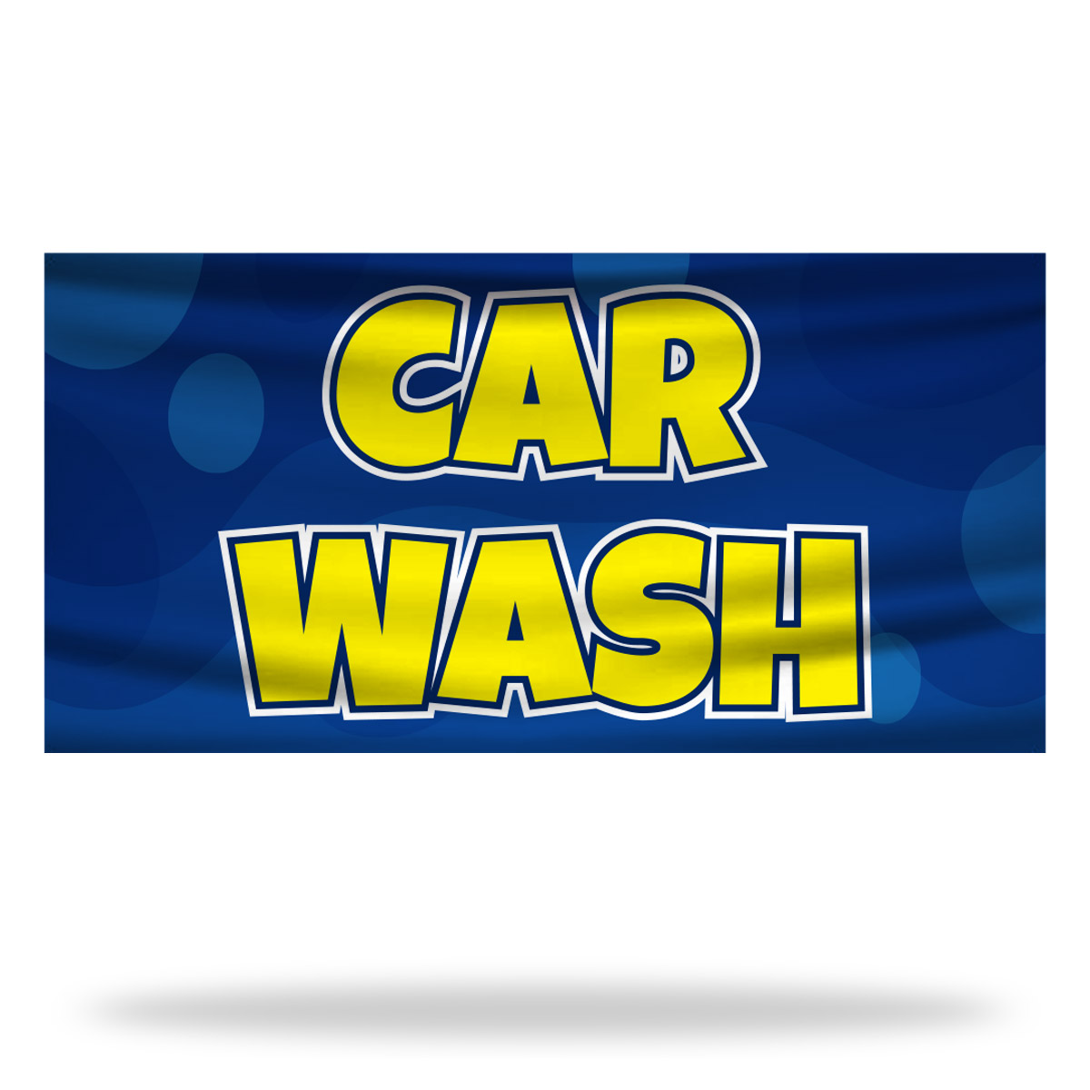 Car Wash Flags & Banners Design 01