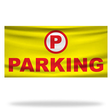Parking Flags & Banners Design 03