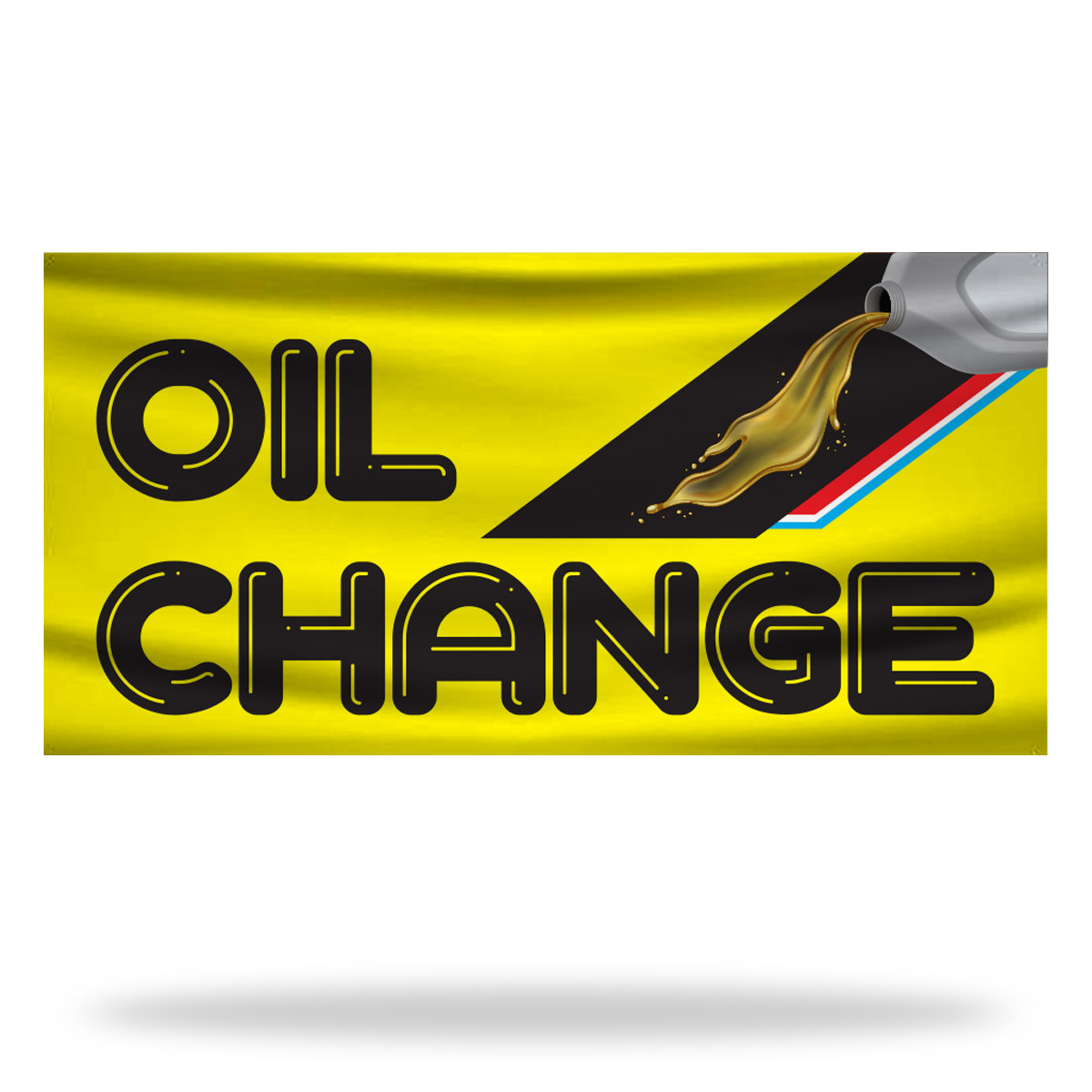 Oil Change Flags & Banners Design 02