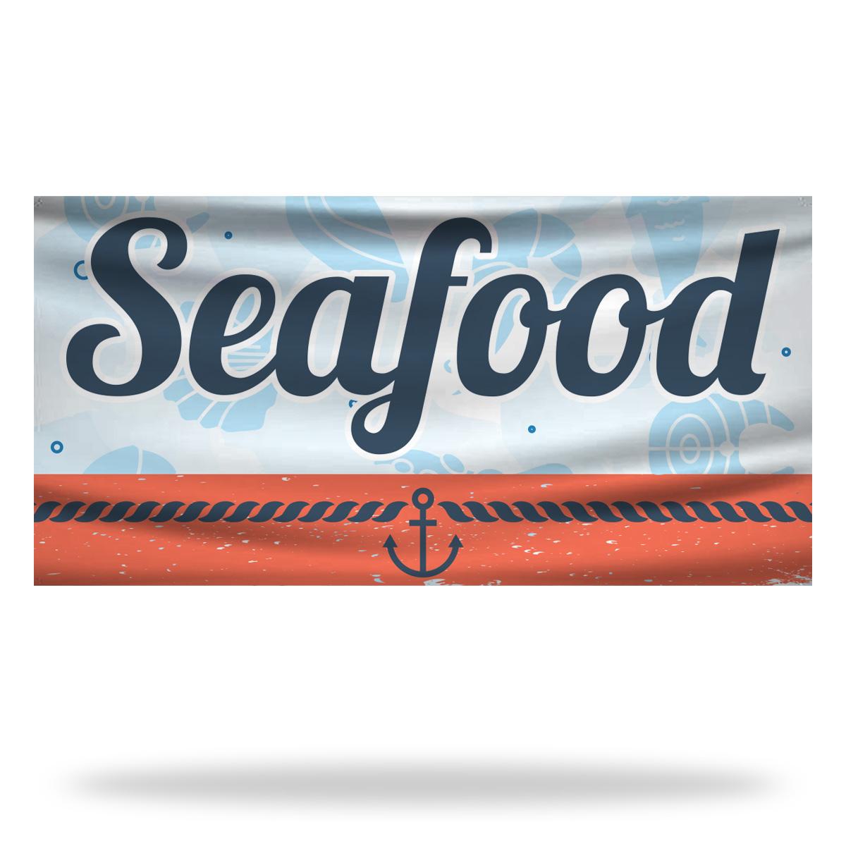 Restaurant Flags & Banners Design 03