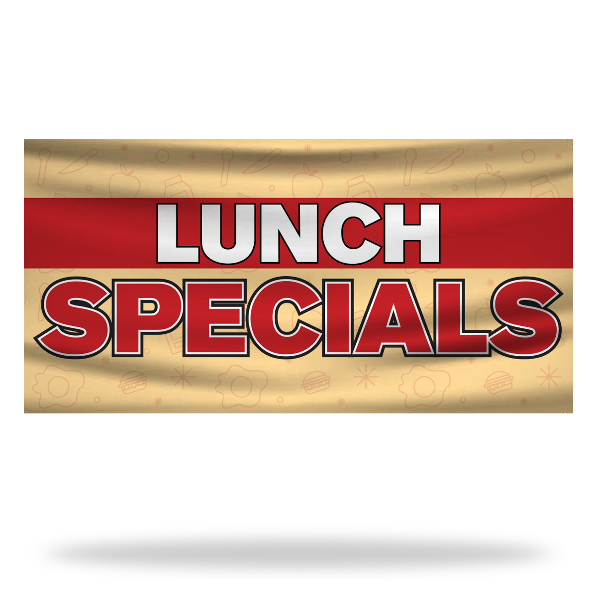 Lunch Specials Flags & Banners Design 02