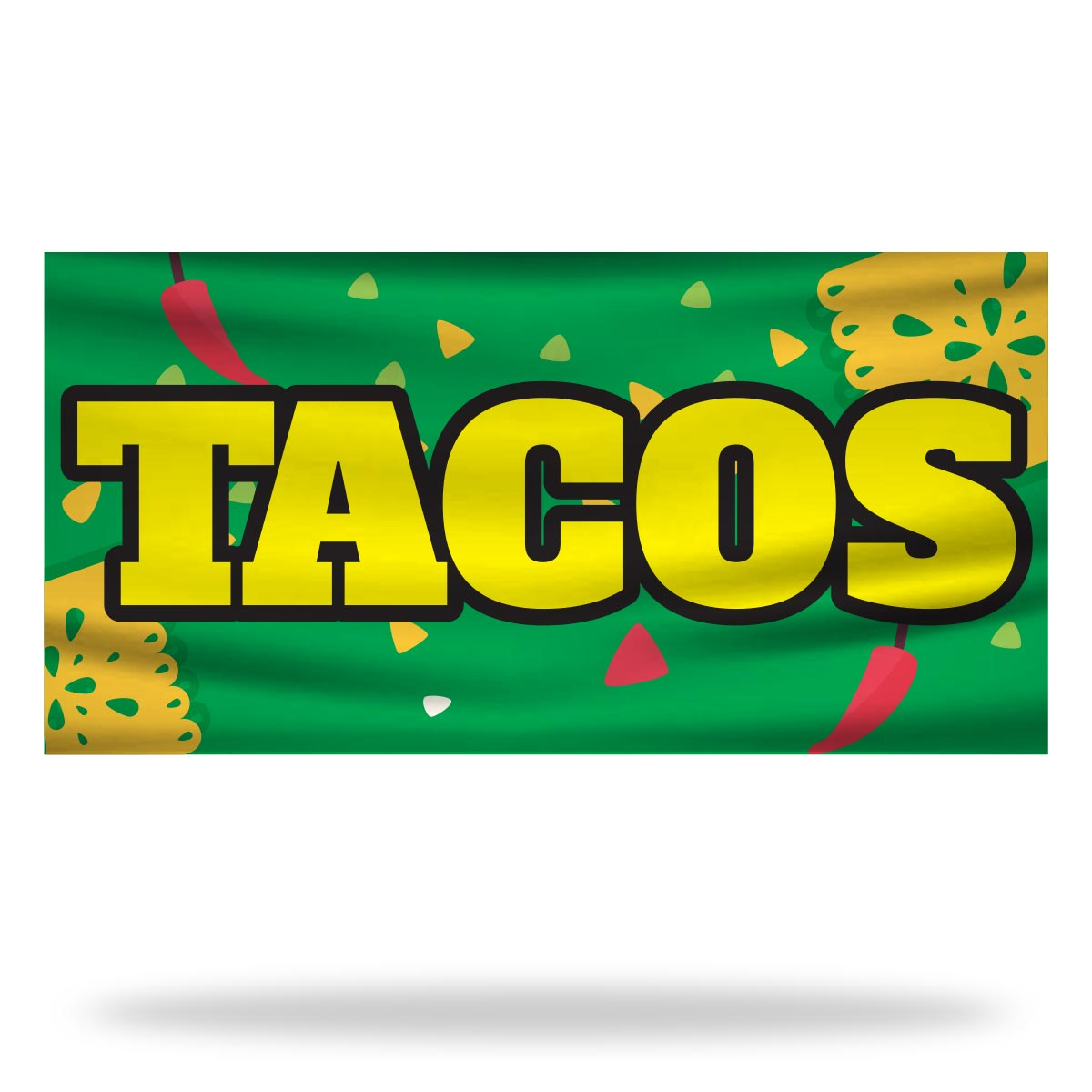 Tacos Flags & Banners Design 01