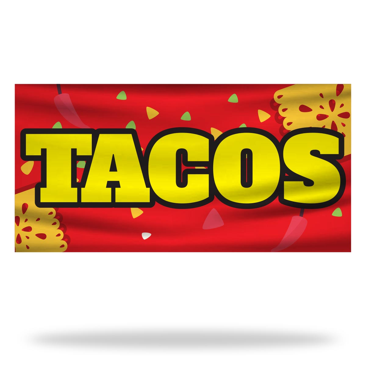 Tacos Flags & Banners Design 02